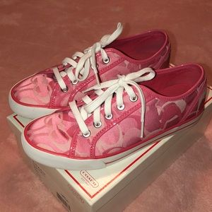 COACH Punch/Pink Sneakers